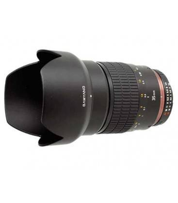 SAMYANG 35 mm f1.4 AS UMC GRAN ANGULAR PARA CANON