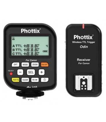 PHOTTIX ODIN DISPARADOR DE FLASH TTL PARA CANON