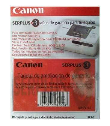 3 ANNI DI SERIE POWERSHOT A/STAMPATO. SELPHY/INYEC. GARANZIA CANON (SP3-2)