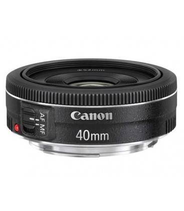 CANON EF 40mm f/2.8 STM + GRATIS 1 AÑO MANTENIMIENTO VIP SERPLUS CANON