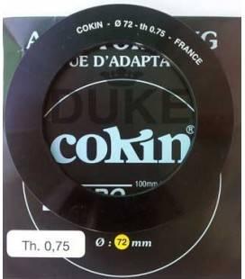ADAPTATEUR COKIN RING Z SÉRIE 72 MM.