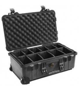 FILM 1510 - SUITCASE WITH MOVABLE COMPARTMENTS AND WHEELS