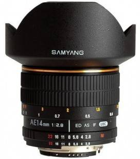 SAMYANG 14MM F/2.8 AE AD ES IF UMC SUPER WIDE-ANGLE FOR NIKON