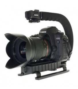 GLOXY GRIP STABILIZER PROFESSIONAL MOVIE MAKER FOR CANON AND NIKON (BLACK)