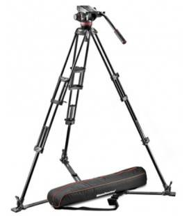 TREPPIEDE MANFROTTO PROFESSIONALE 546GB+ROTULA MVH502A