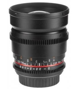 SAMYANG SUPER BIG ANGULAR VDSLR 16mm T2.2 POUR NIKON