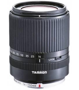 OBIETTIVO TAMRON AF 14-150 mm F:3.5-5.8 Di III MICRO QUATTRO TERZE (52 mm) (PANASONICHE E OLIMPICO) NERO