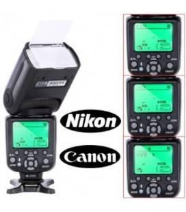 TRIOPO FLASH PROFESSIONAL CTR-988 PARA CANON Y NIKON