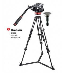 MANFROTTO VIDEO KIT PRO 546GB + PATELLA  504HD