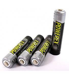 POWEREX MHRAAA4-1000 - PACK 4 AAA NiMH Batterien 1,2V 1000mAh