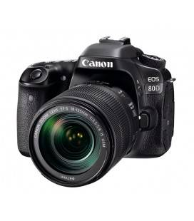 CANON EOS 80D + 18-135mm IS USM + REGALO KIT V-BLOGGING