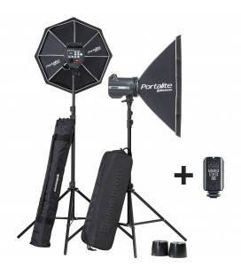 ELINCHROM KIT BRX 500/500 SOFTBOX TO GO