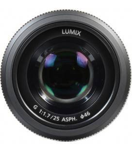 PANASONIC LUMIX  G 25 mm/F1.7  NEGRO