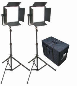 NANGUANG LED CN-1200CSA BICOLOR CON ALETAS (KIT CON 2 PANEL LED)