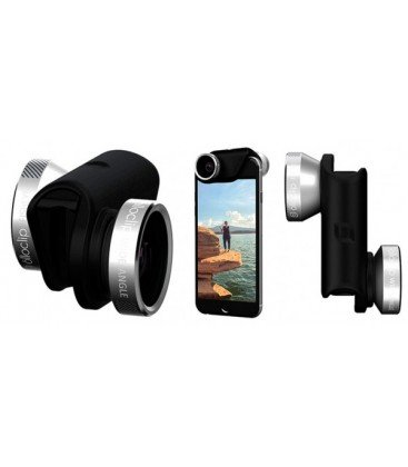 OLLOCLIP OBJETIVO 4EN1 PARA IPHONE 6/6S/6PLUS