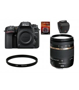 NIKON D7500 CUERPO + TAMRON 18-270MM F/3.5-6.3 DI II VC PZD + BOLSO TAMRON + SD 16GB HD VIDEO + FILTRO 62MM UV
