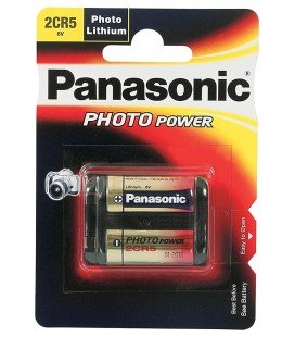 PANASONIC PILA LITHIO 2CR5