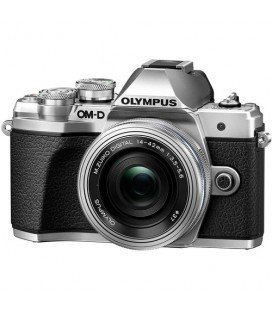 OLYMPUS E-M10 MARK III PLATA KIT PANCAKE DZK 14-42MM IR