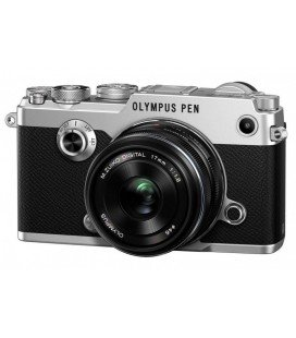 OLYMPUS PEN-F + 17MM PLATA + KIT PREMIUM REGALO