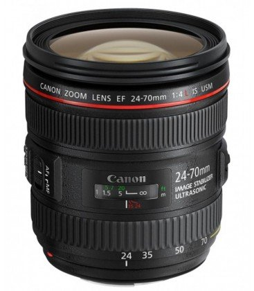CANON EF 24-70mm f/4L IS USM + GRATIS 1 AÑO MANTENIMIENTO VIP SERPLUS CANON