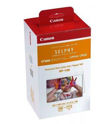 CANON RP108 PAPEL FOTOGRAFICO Y CARTUCHO SELPHY