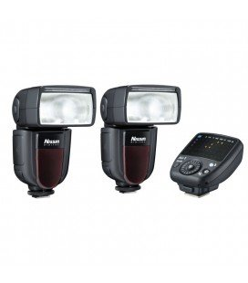 NISSIN KIT 2 DI700A FUJI 2FLASHES + TRANSMISOR AIR 1