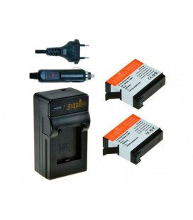 JUPIO CHARGER KIT + 2 BATTERIES GOPRO AHDBT-401 1160MAH
