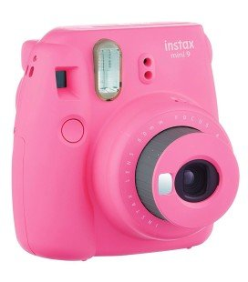 FUJIFILM  INSTAX MINI 9 + 10 PHOTOS + COUVERTURE ORIGINALE - ROSE