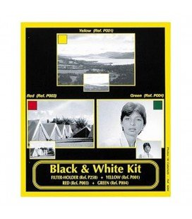 COKIN WP-H220B BLACK AND WHITE FILTER KIT P SERIES