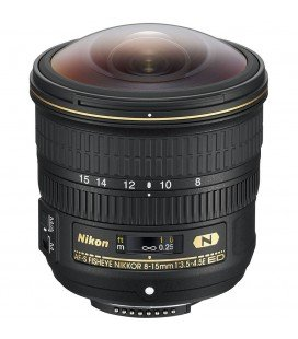 NIKON  AF-S 8-15mm F3.5-4.5E ED - FISH EYE