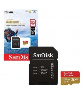 SANDISK MICR SDHC EXTREME 32 GB 100M/BS