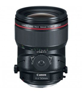 CANON  TS-E 50 MM f / 2.8L MACRO TILT SHIFT