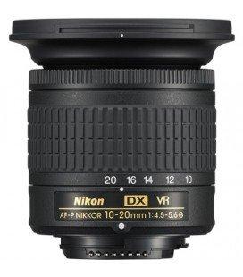 NIKON AF-P DX 10-20MM F4.5-5.6G VR (solo compatible con Nikon D3300/D3400/D3500/D5300/D5500/D5600/D7500)