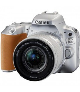 CANON EOS 200D + 18-55 IS STM KIT - PLATA