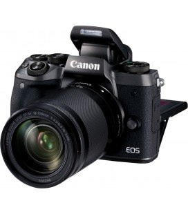 CANON EOS M5 + EF-M 18-150MMM f/3.5-6.3 IS STM + 1 ANNO GRATUITO SERPLUS CANON VIP MAINTENANCE SERPLUS CANON