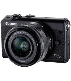 CANON EOS M100 + EF -15-45MM IS STM + GRATIS CURSO + 1 AÑO MANTENIMIENTO VIP SERPLUS CANON