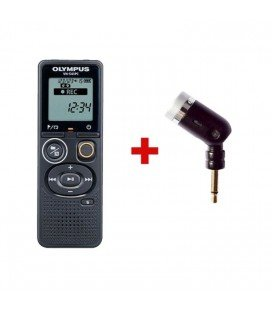 OLYMPUS VN-541PC + MICROPHONE UNIDIRECTIONNEL ME52 4GB RECORDER