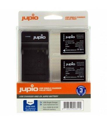 JUPIO 2 BATERIAS BLG-10 + CARGADOR USB (CPA1005)
