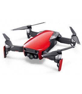DJI MAVIC AIR FLY MORE COMBO DRONE 4K ROJO-RED