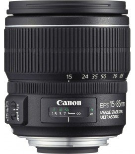 CANON EF-S 15-85mm f/3.5-5.6 IS USM + GRATIS 1 ANNO VIP MAINTENANCE SERPLUS CANON di manutenzione VIP