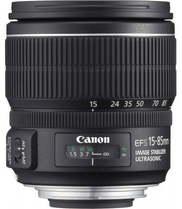 CANON EF-S 15-85mm f/3.5-5.6 IS USM + GRATIS 1 AÑO MANTENIMIENTO VIP SERPLUS CANON