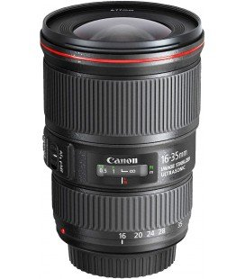 CANON EF 16-35mm f/4L IS USM + FREE 1 an VIP MAINTENANCE SERPLUS CANON