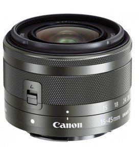 CANON EF-M 15-45mm f/3.5-6.3 IS STM + FREE 1 an VIP MAINTENANCE SERPLUS CANON