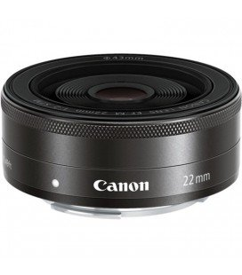 CANON 22MM EF-M F/2 STM + FREE 1 YEAR VIP SERPLUS MAINTENANCE CANON