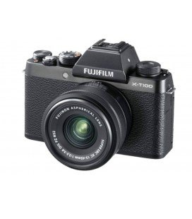 FUJIFILM X-T100 + 15-45MM BLACK + 100 EUROS DIRECT DISCOUNT