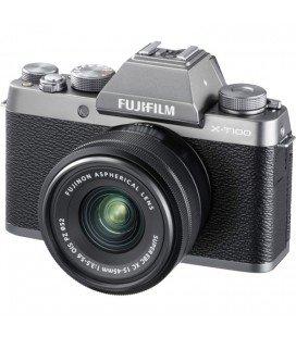 FUJIFILM X-T100 + 15-45MM - PLATA + 100 EUROS DESCUENTO DIRECTO