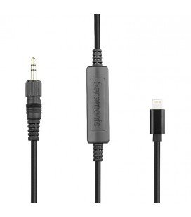SARAMONIC CONNECTEUR LC-C35 3.5MM A LIGHTNING IOS