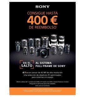 SONY ALPHA A7R II CUERPO + 200 EUROS REEMBOLSO SONY