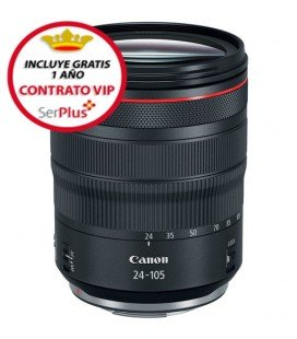CANON RF 24-105MM F4L IS USM + GRATIS 1 AÑO MANTENIMIENTO VIP SERPLUS CANON