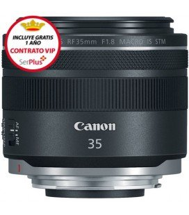 CANON RF 35MM f/1.8 IS MACRO STM + GRATIS 1 AÑO MANTENIMIENTO VIP SERPLUS CANON